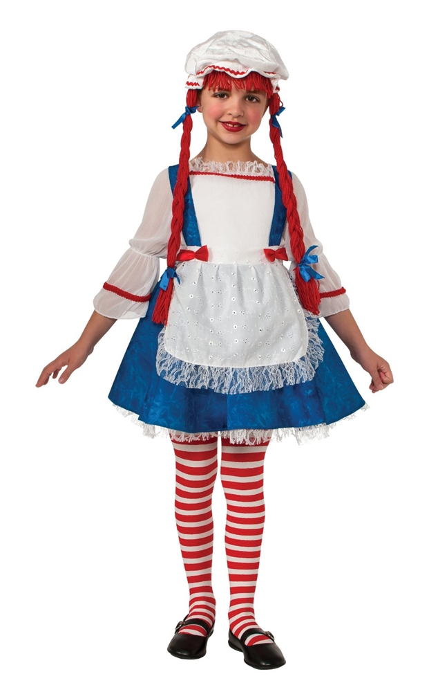 Rag Doll Girl Child Costume