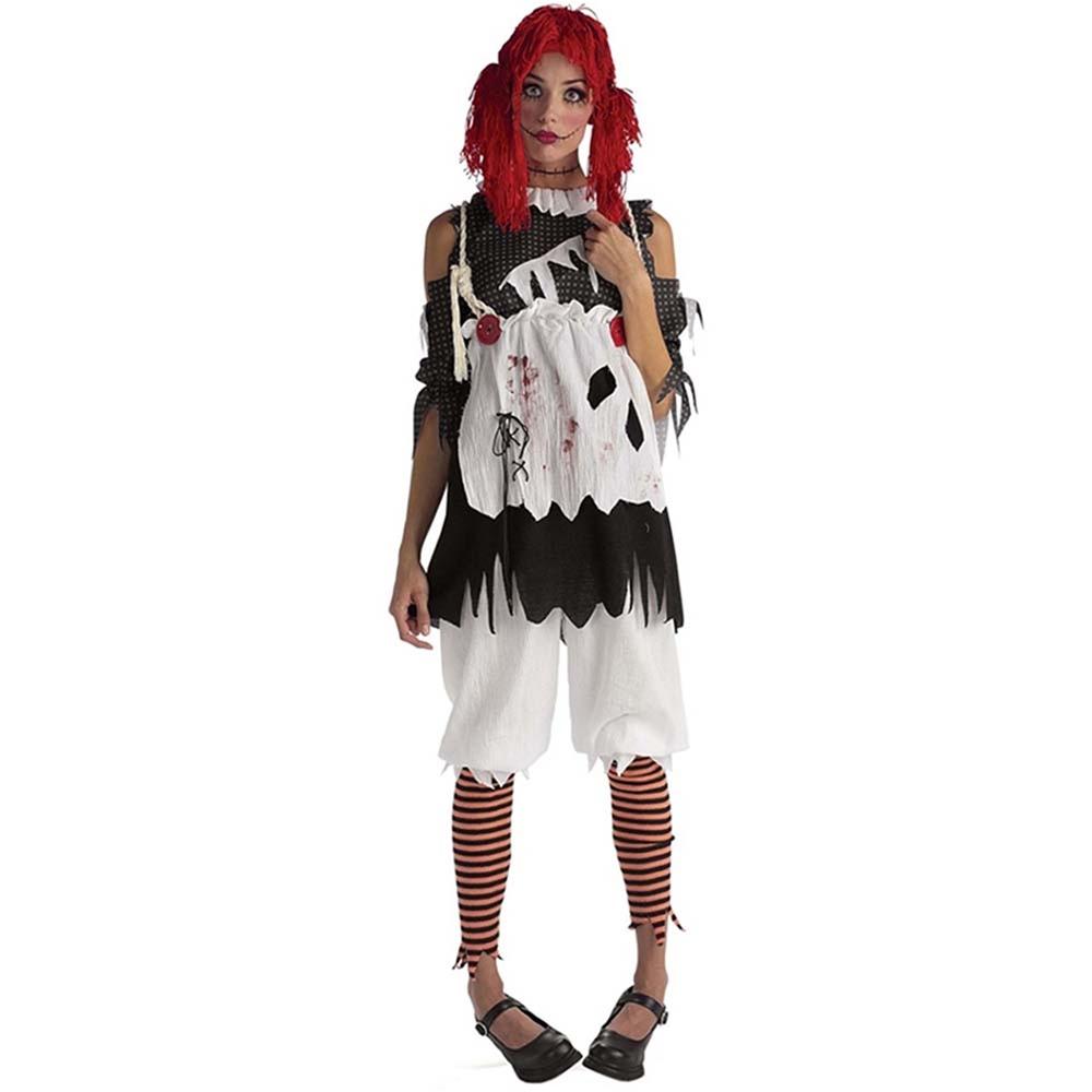 Rag Doll Girl Adult Womens Costume