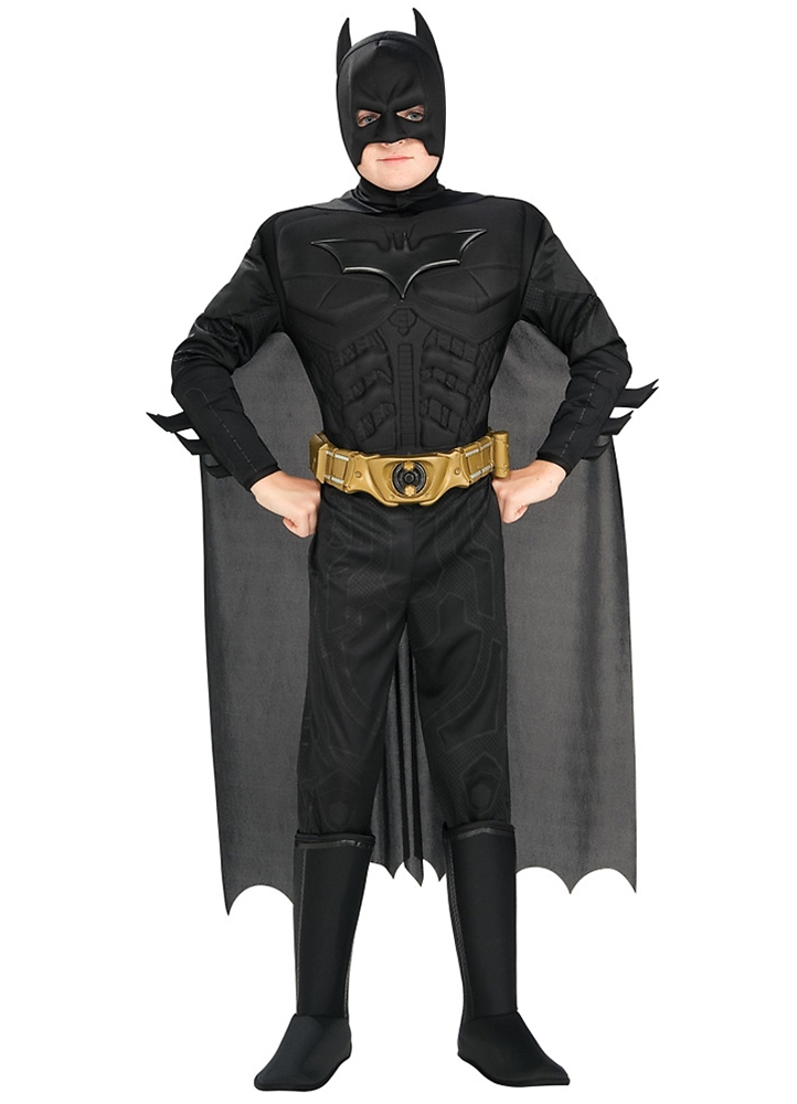 Batman The Dark Knight Deluxe Muscle Child Costume by Rubies