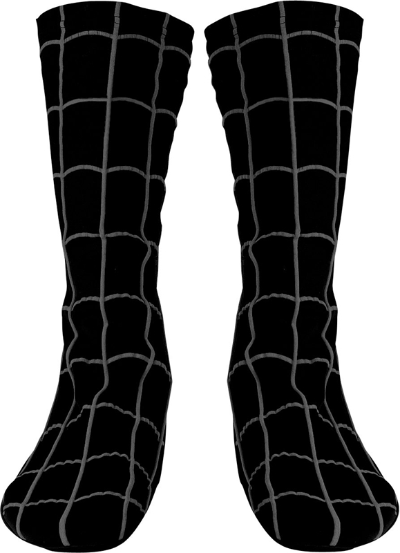 Marvel Spider-Man Black Boot Covers - Adult