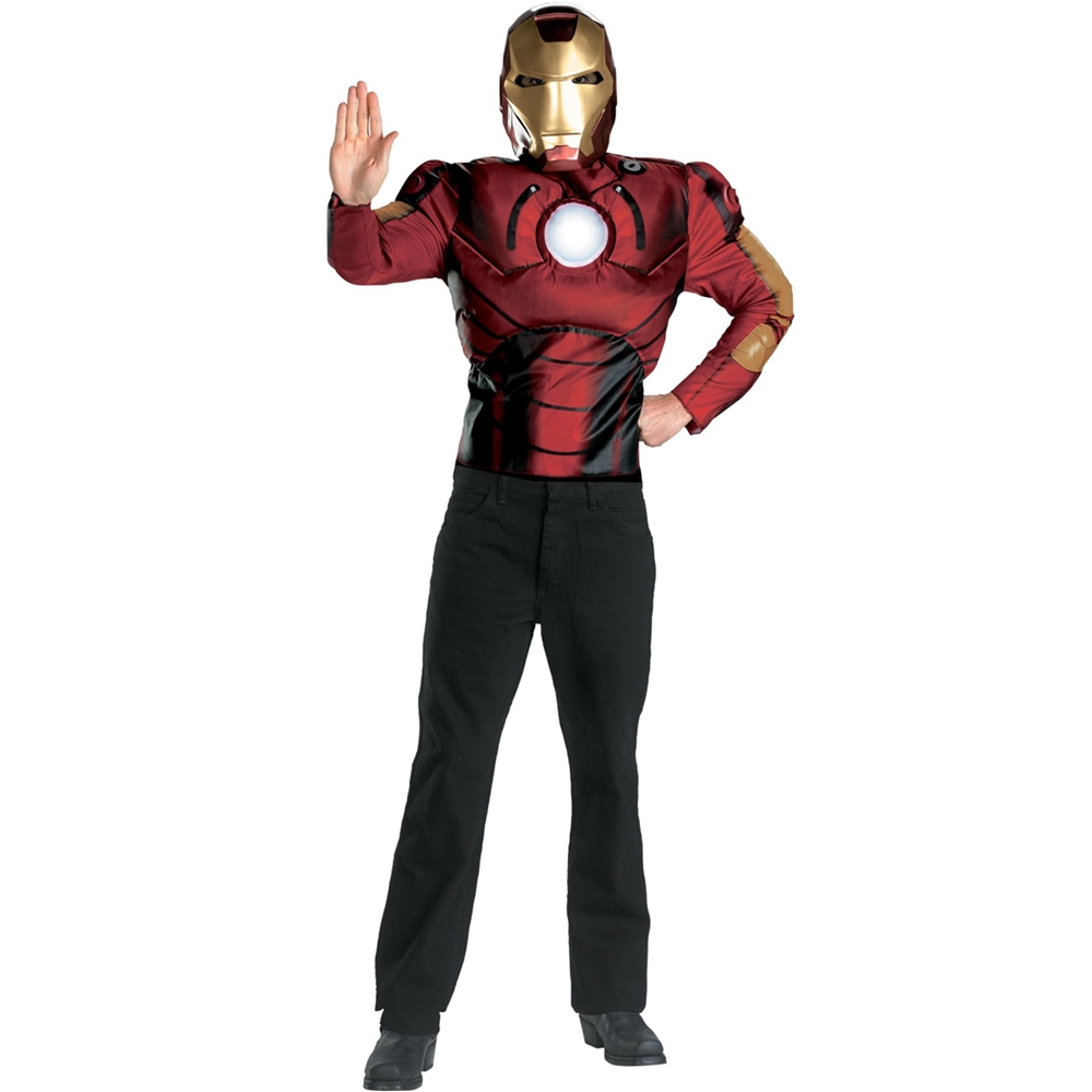 Iron Man The Movie Muscle Adult Mens Costume