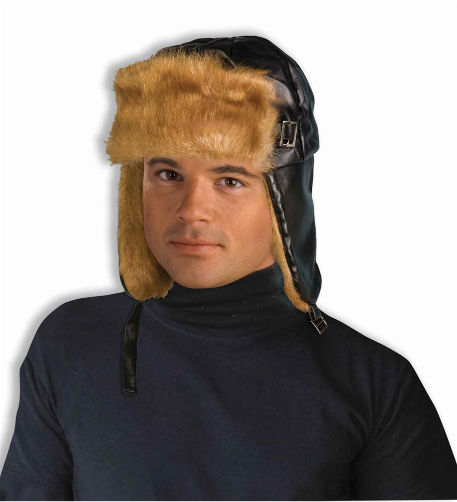 [Furry Aviator Adult Hat] (Adult Aviator Hat)