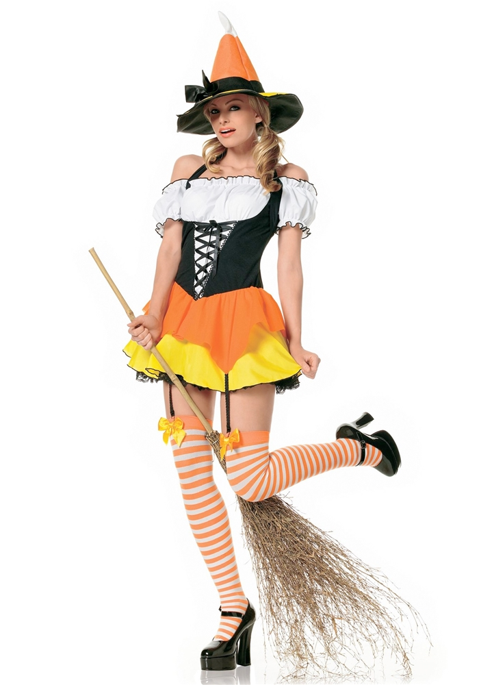 Kandy Korn Witch Adult Womens Costume