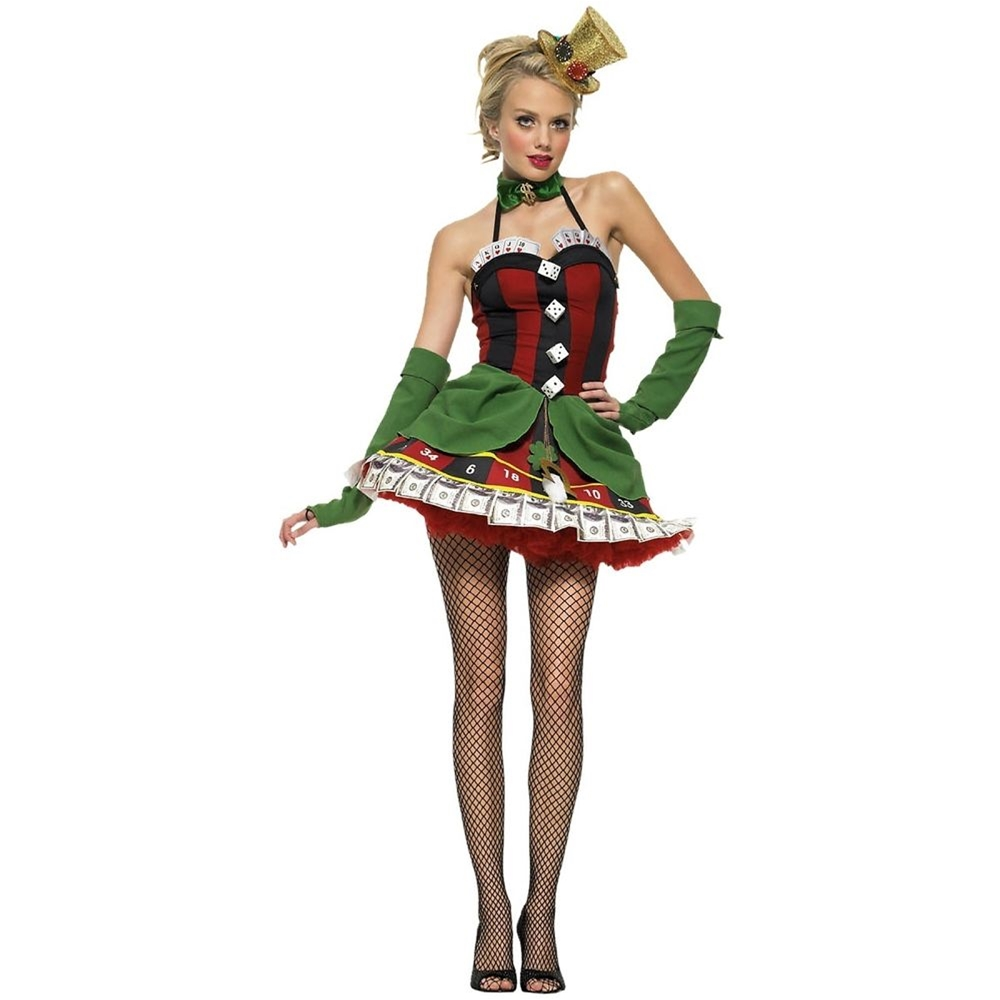 Lady Luck Adult Womens Costume by Leg Avenue