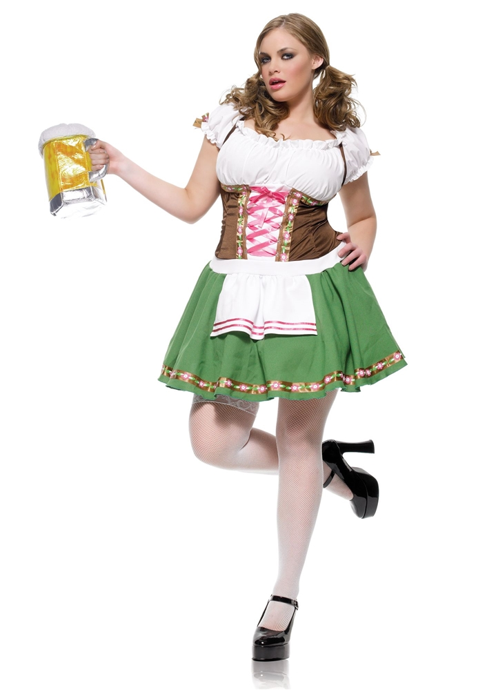 Gretchen Girl Adult Womens Plus Size Costume (2)
