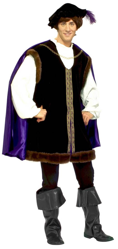 Deluxe Noble Lord Adult Mens Costume