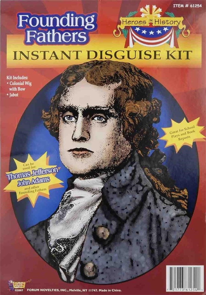 Thomas Jefferson Instant Disguise Kit