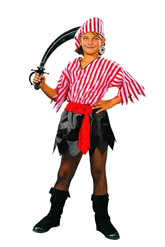 Pirate Girl Child Costume