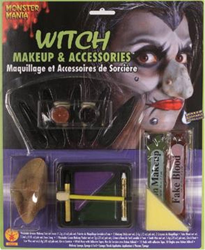 Witch Makeup and Accessories Kit