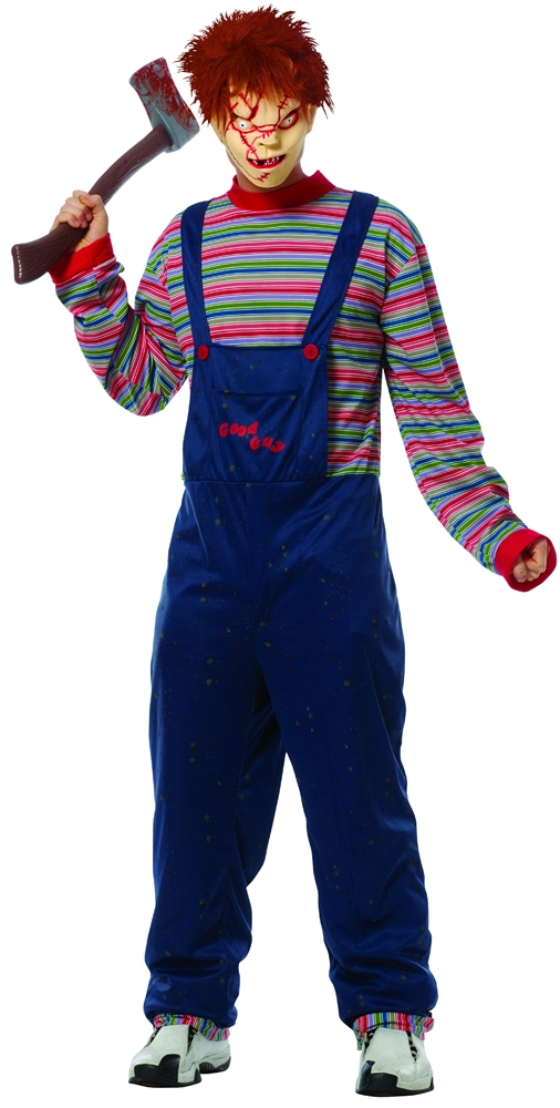 [Chucky Adult Mens Costume] (Mens Costumes)