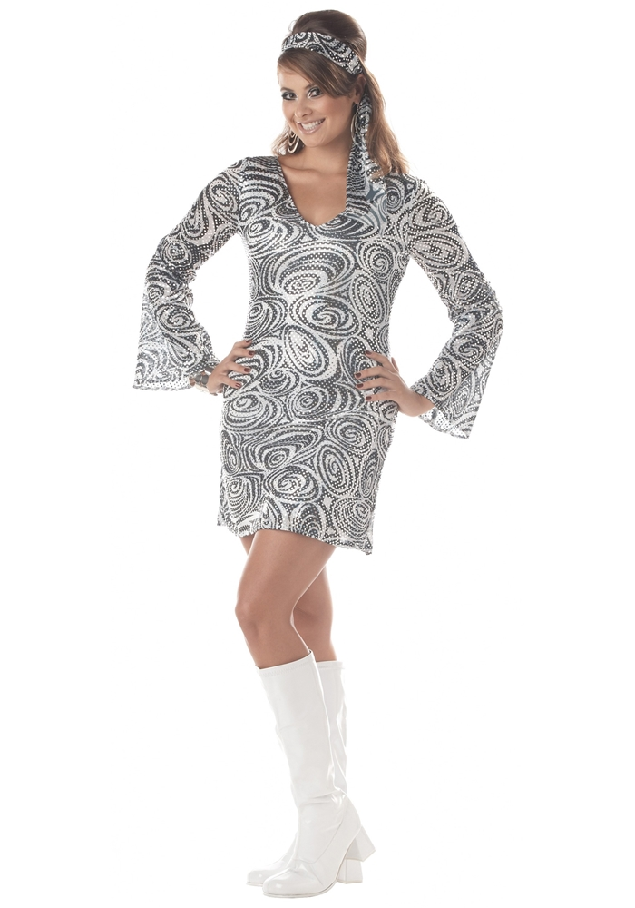 Sexy Disco Diva Adult Womens Plus Size Costume by California Costumes