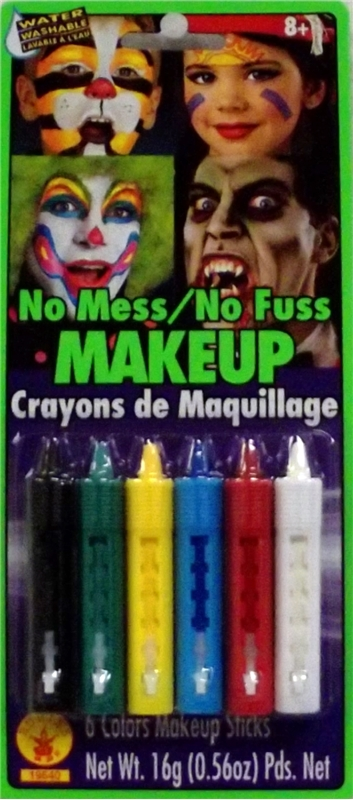 No Mess-No Fuss Makeup Crayons