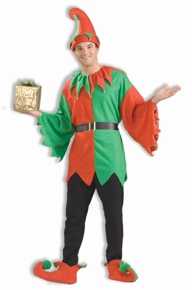 Santas Helper Elf Adult Costume