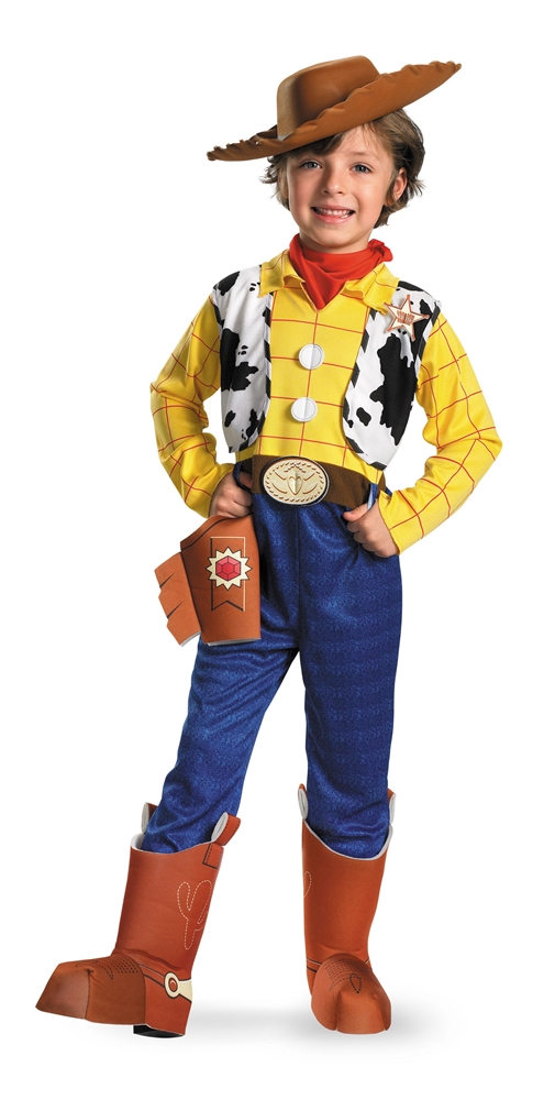 Toy Story And Beyond! Deluxe Woody Child Costume