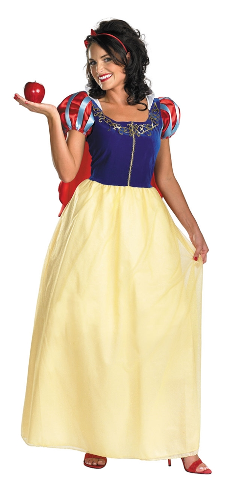 Snow White Deluxe Adult Womens Costume