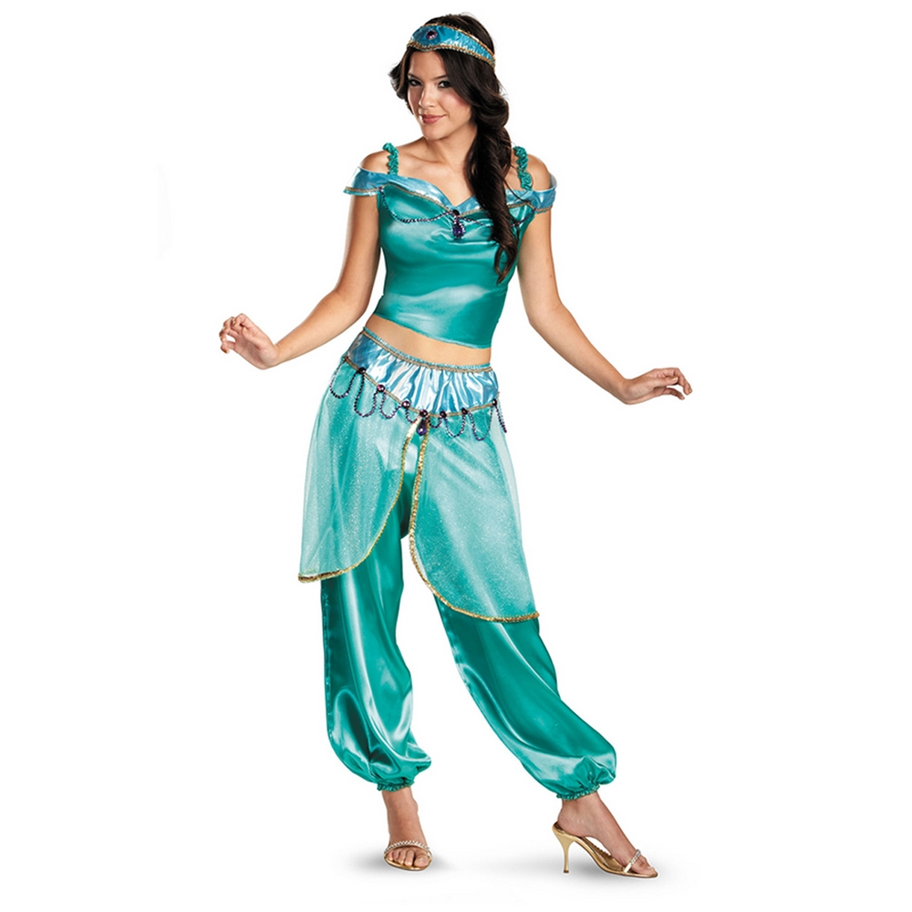 Jasmine Deluxe Adult Womens Costume