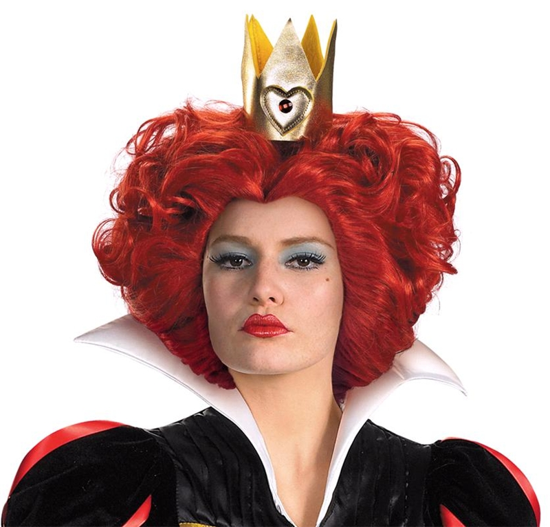 Red Queen Wig by Disguise