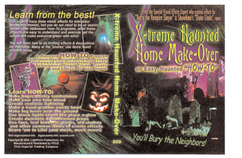 X-treme Haunted Homemaker DVD by FITCO