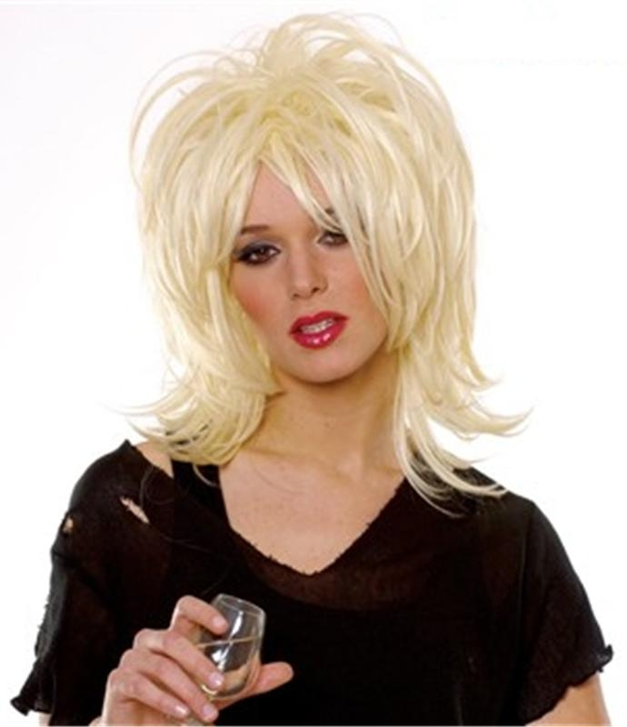 Courtney Blonde Adult Wig
