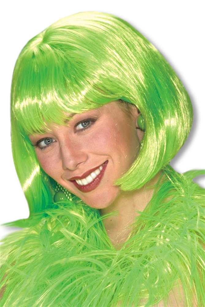 St. Patricks Day Green Wig