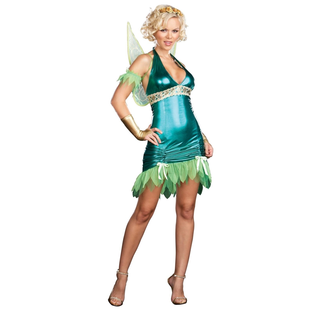 Lil Green Fairy Adult Womens Costume