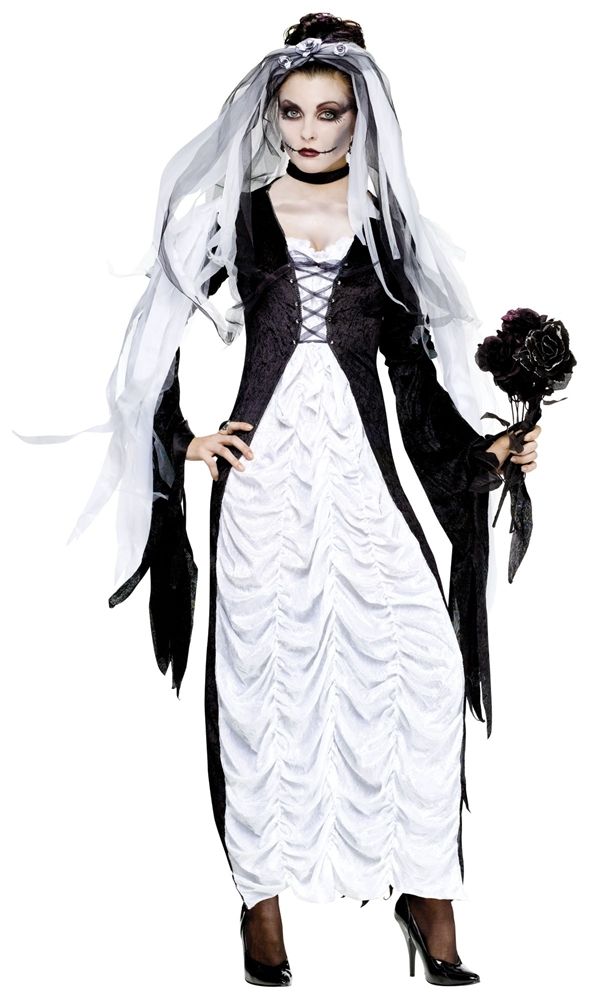 Bride Of Darkness Adult Womens Costume