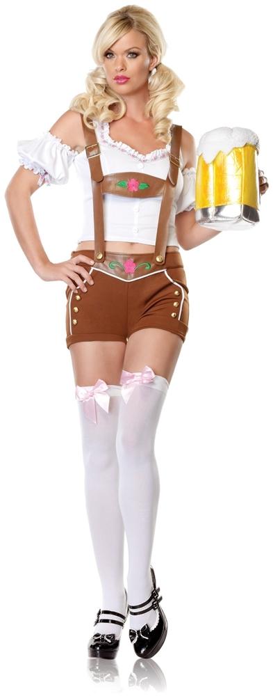Lil Miss Lederhosen Womens Costume by Leg Avenue