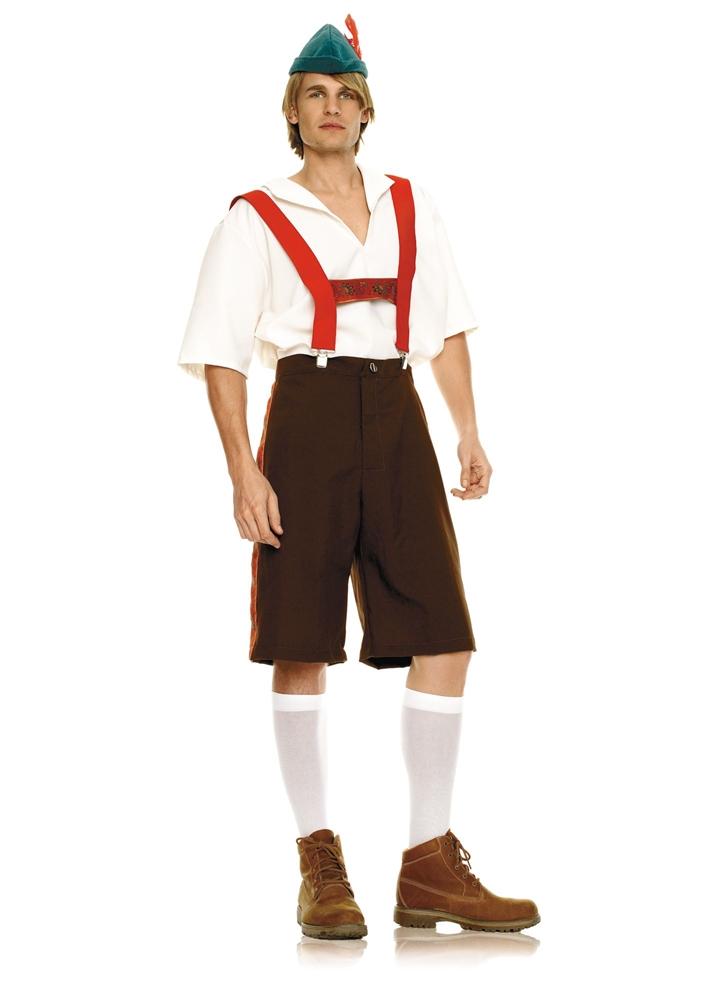Lederhosen Adult Mens Costume