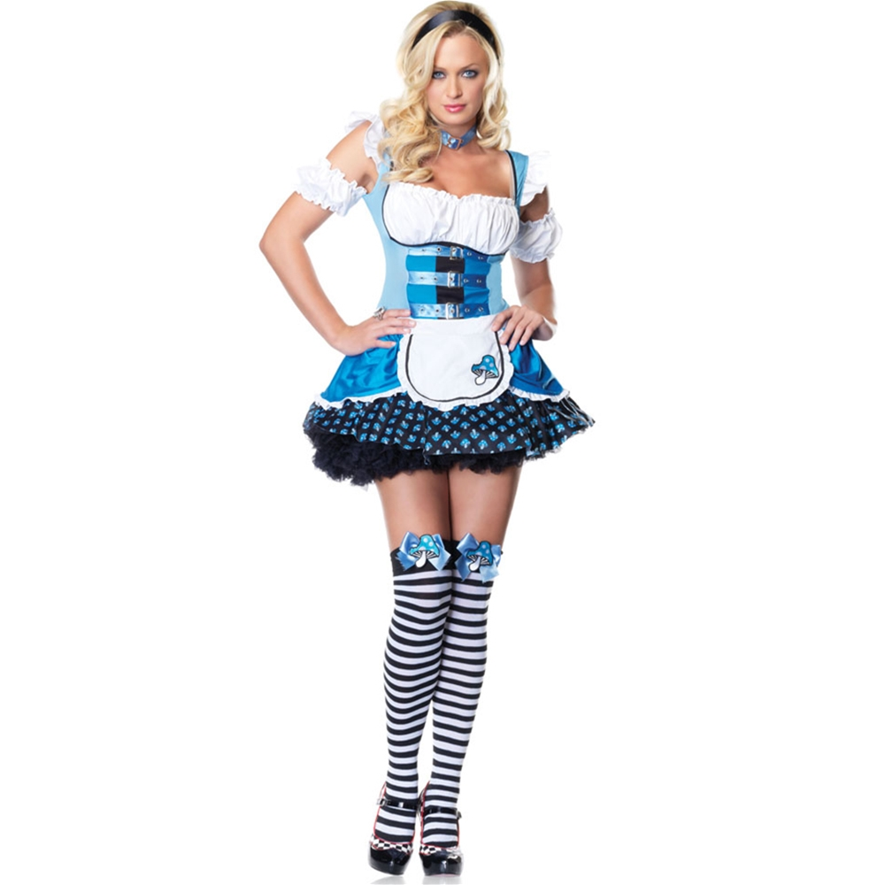 Magic Mushroom Alice Adult Womens Costume
