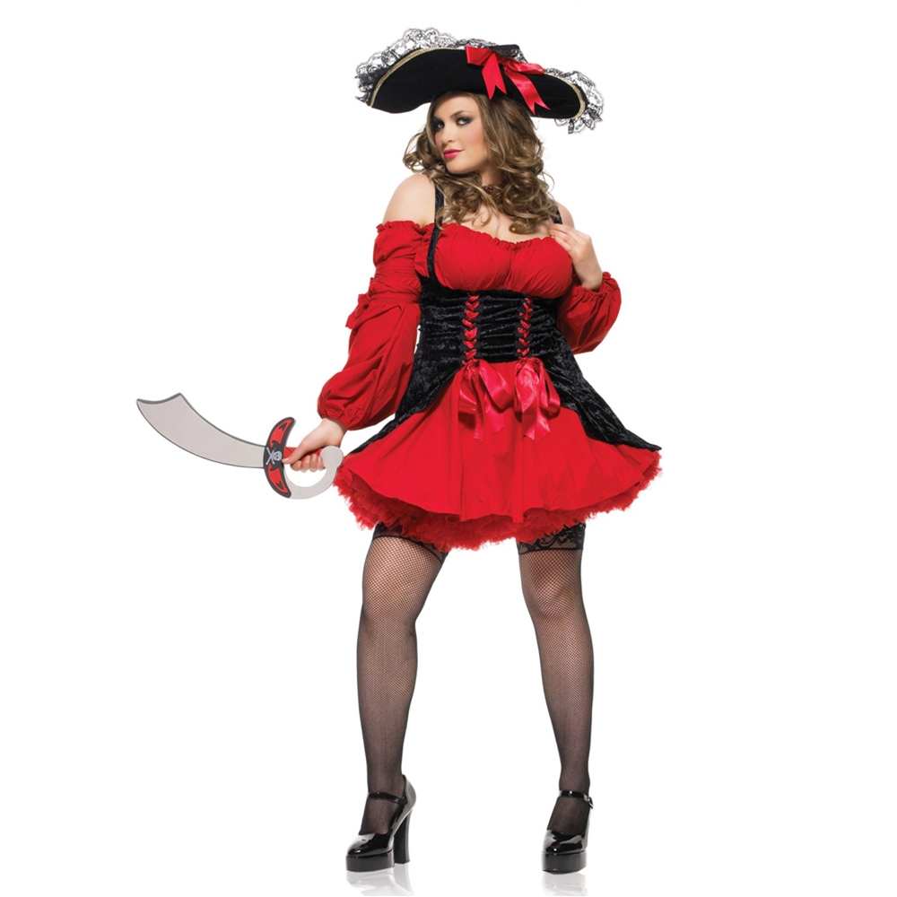Vixen Pirate Wench Plus Size Adult Womens Costume by Leg Avenue