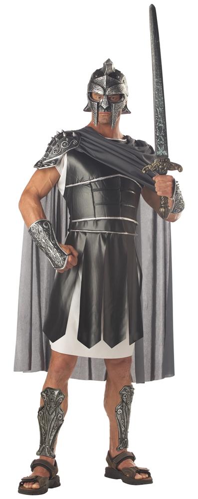 [Centurion Gladiator Adult Mens Plus Size Costume] (Mens Gladiator Costumes)