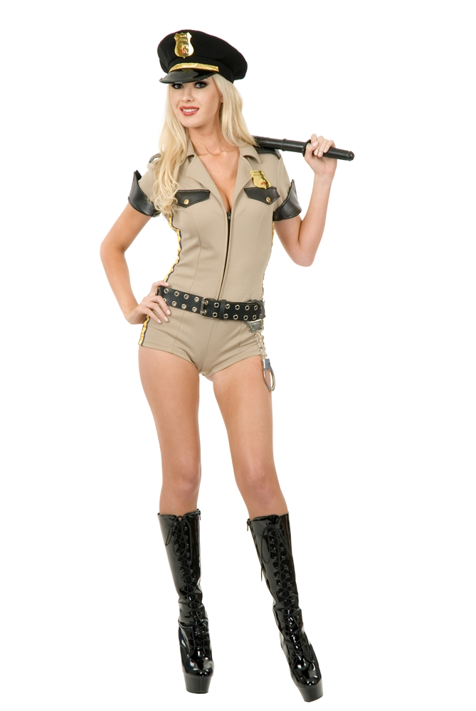 Sexy Reno Sheriff Adult Womens Costume