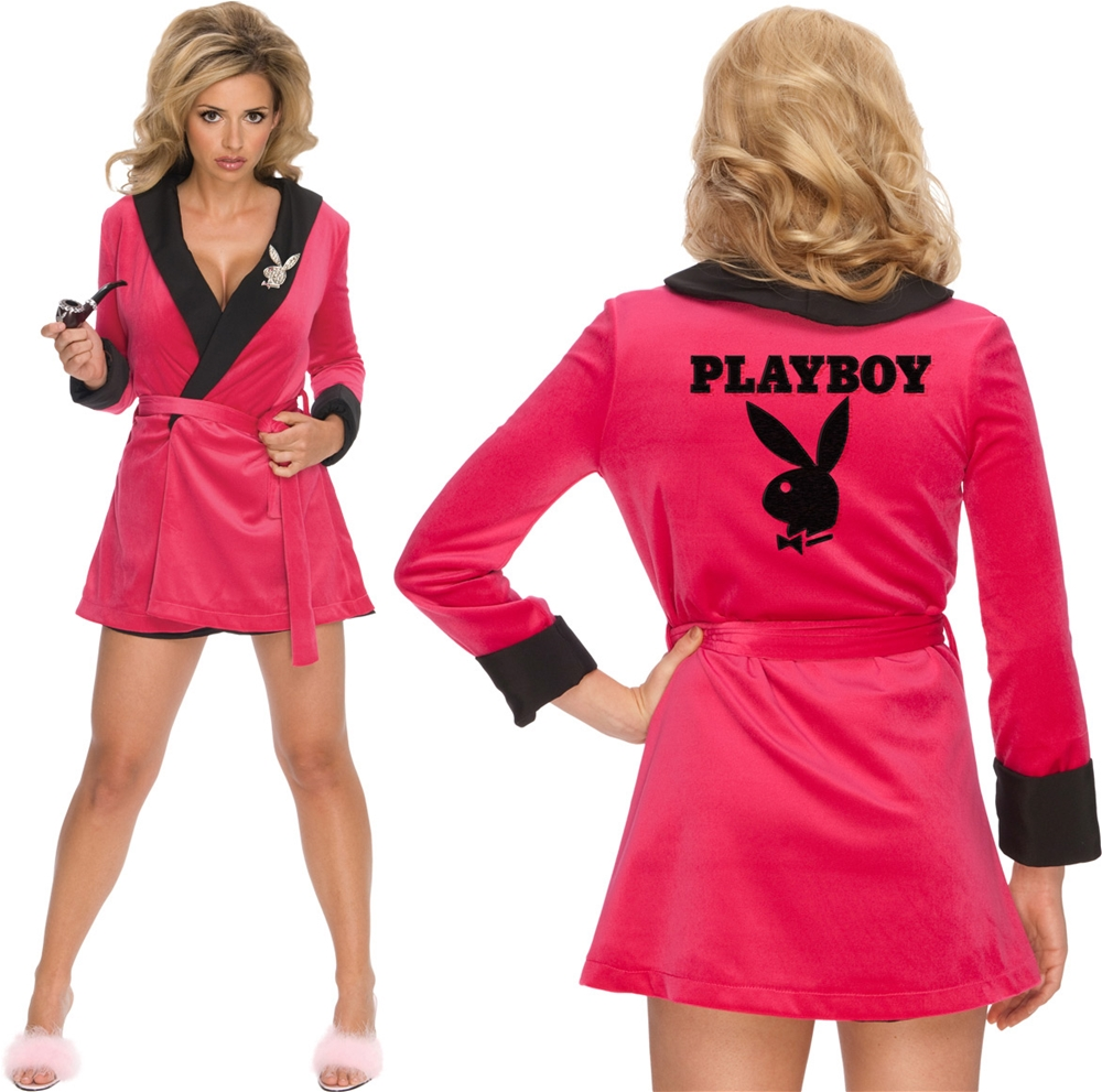 [Playboy Sexy Girlfriend Pink Womens Costume] (Pink Sexy Costumes)