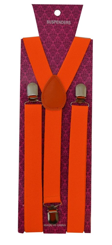 Suspenders Belt Neon Orange