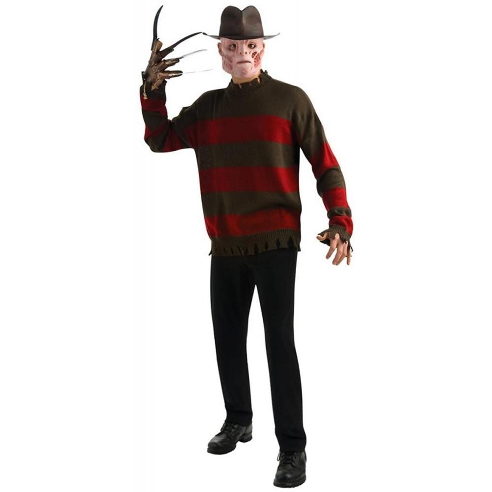 [Freddy Krueger Sweater Teen Costume] (Freddy Krueger Costume)