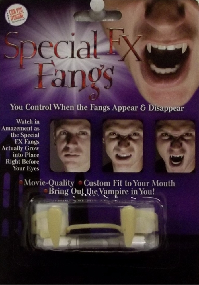 Special FX Growing Fangs