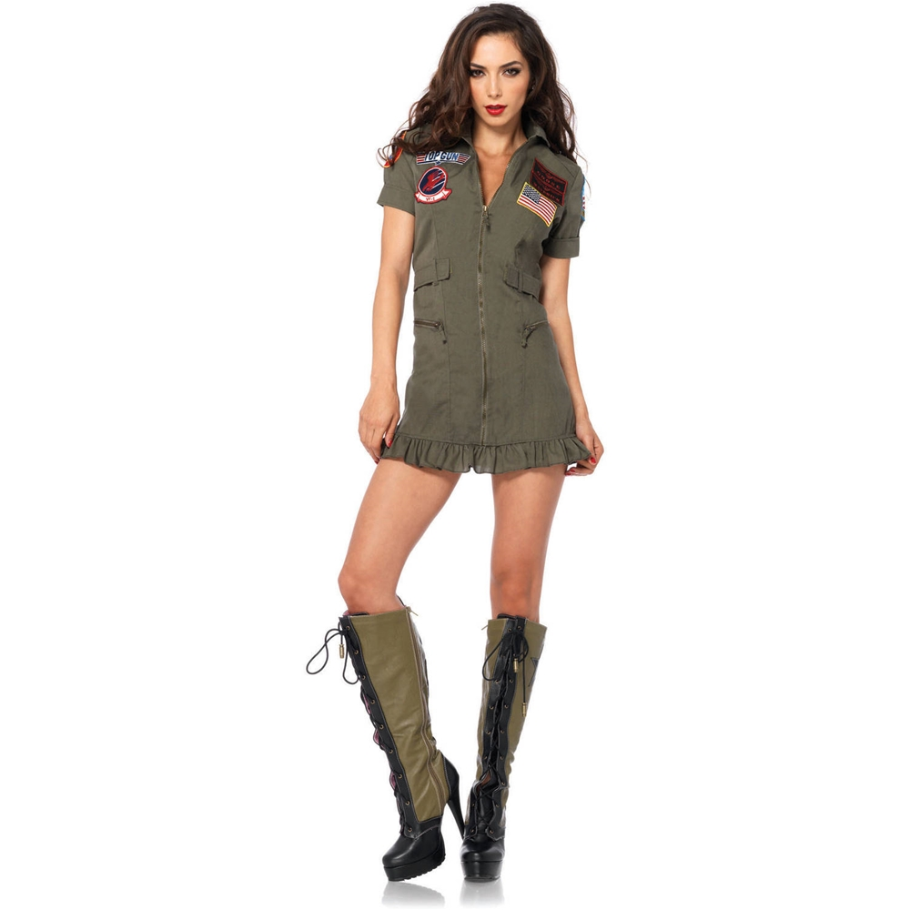 Top Gun Dress Adult Womens Costume