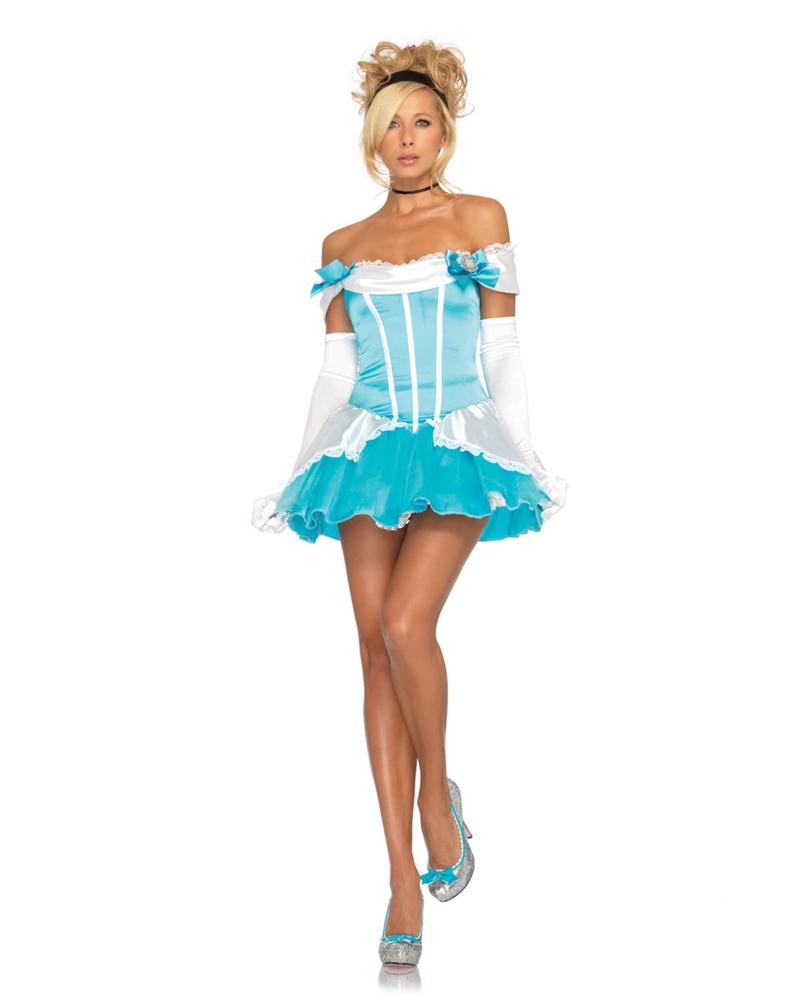 Glass Slipper Princess Adult Womens Costume
