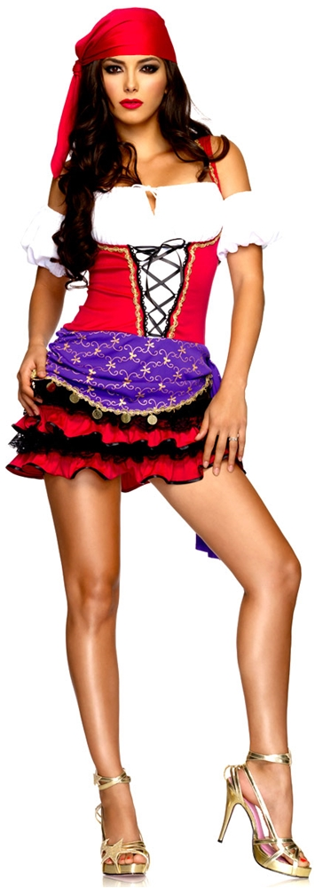 Crystal Ball Gypsy Sexy Adult Womens Costume by Leg Avenue