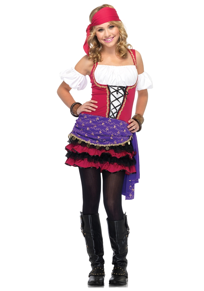 Crystal Ball Gypsy Juniors Costume by Leg Avenue