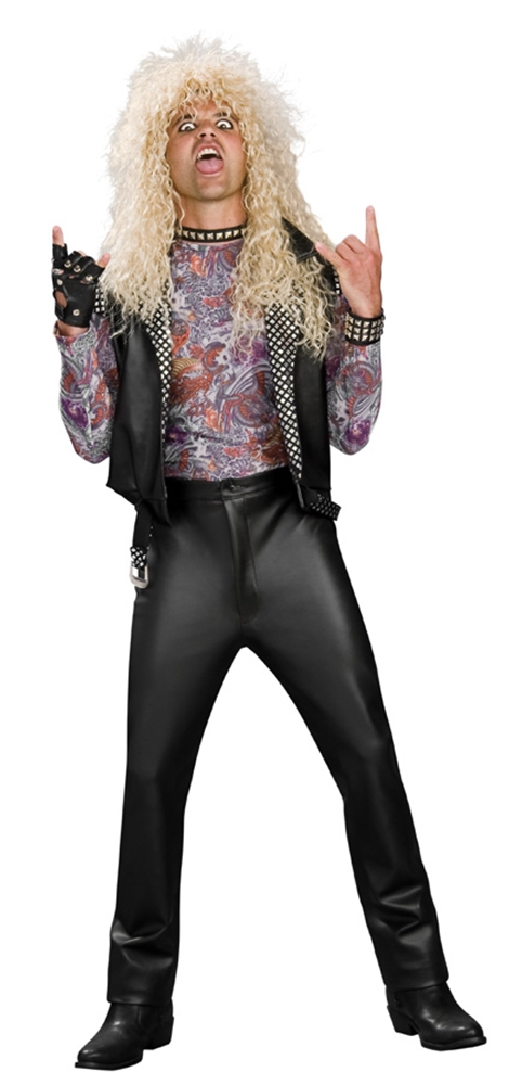 80s Rocker Adult Mens Costume