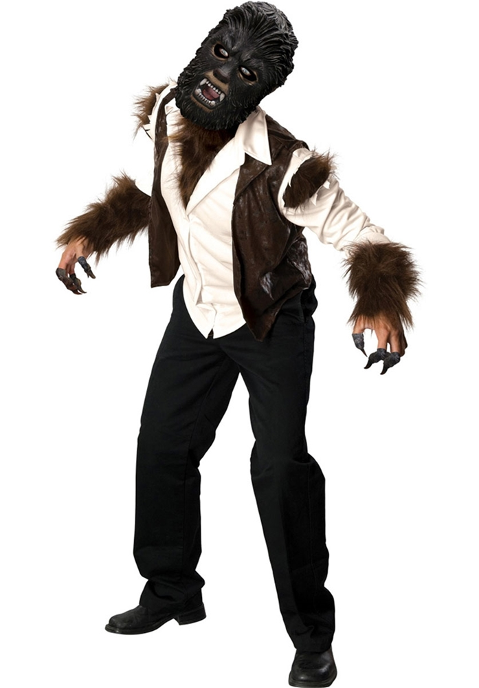The Wolfman Deluxe Adult Mens Costume  sc 1 st  Halloween Costumes 2018 at CostumeVip.com | Halloween Costume Ideas 2018 : deluxe werewolf costume  - Germanpascual.Com