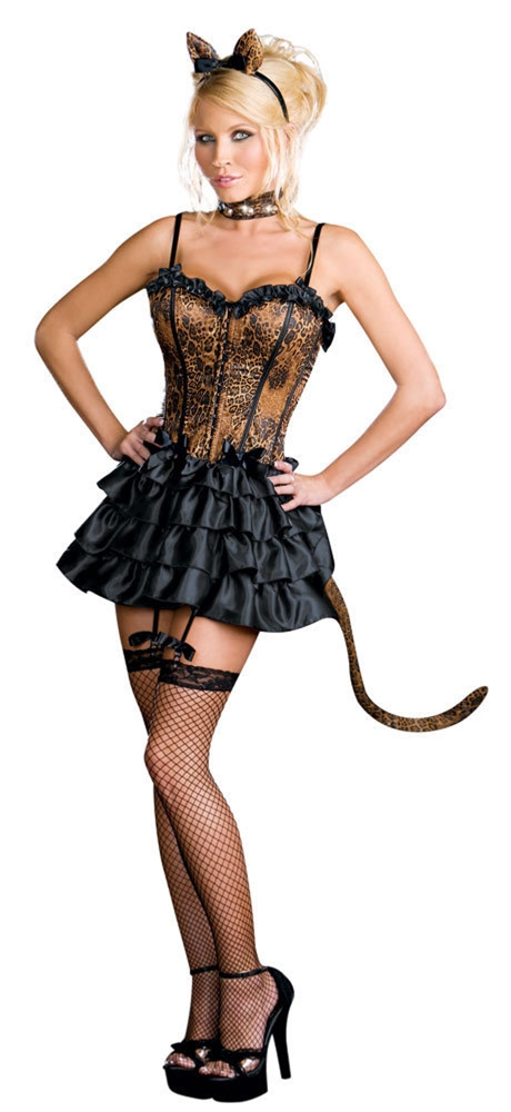 Bonjour Kitty Adult Womens Costume