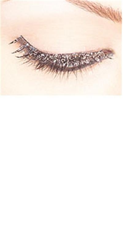 Silver Sparkle Eyelashes