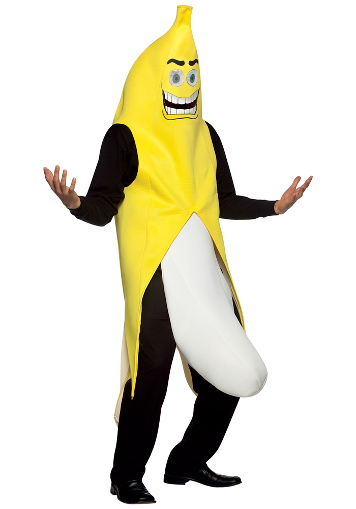 Flashing Banana Adult Costume