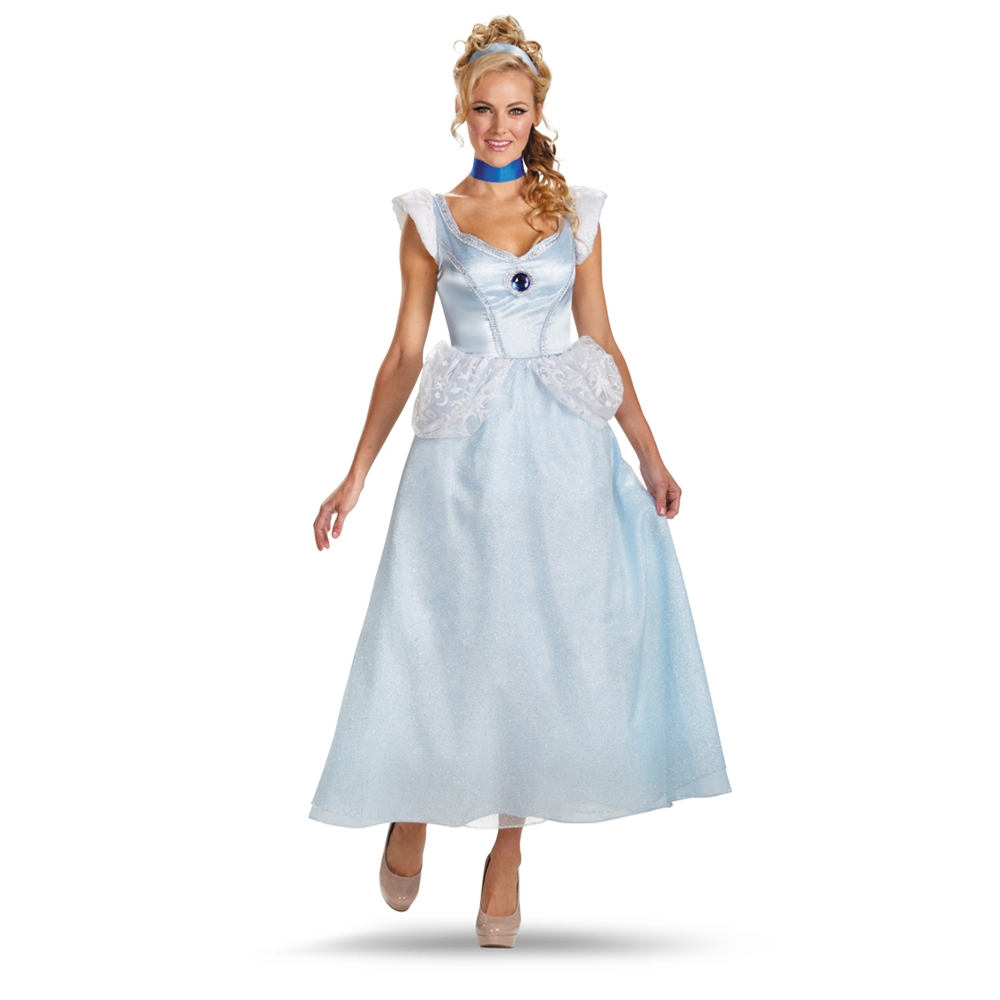 Cinderella Deluxe Adult Womens Costume