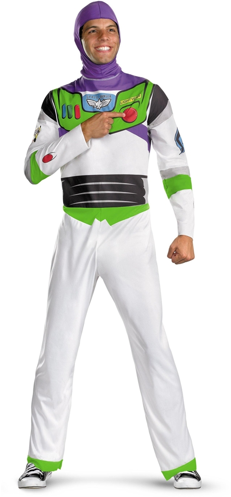 Toy Story And Beyond Classic Buzz Lightyear Adult Mens Costume