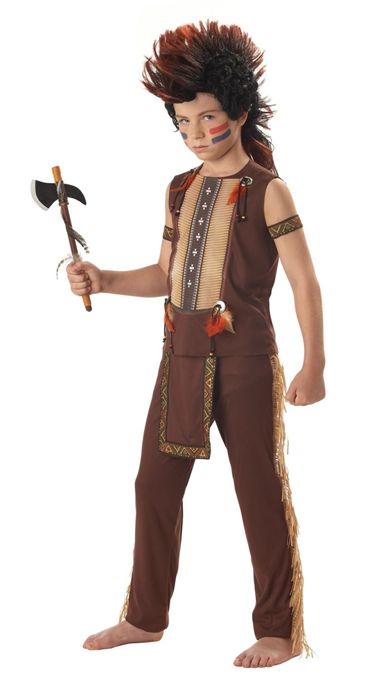 Indian Warrior Child Costume by California Costumes