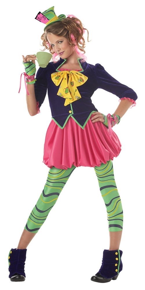 Mad Hatter Tween Costume