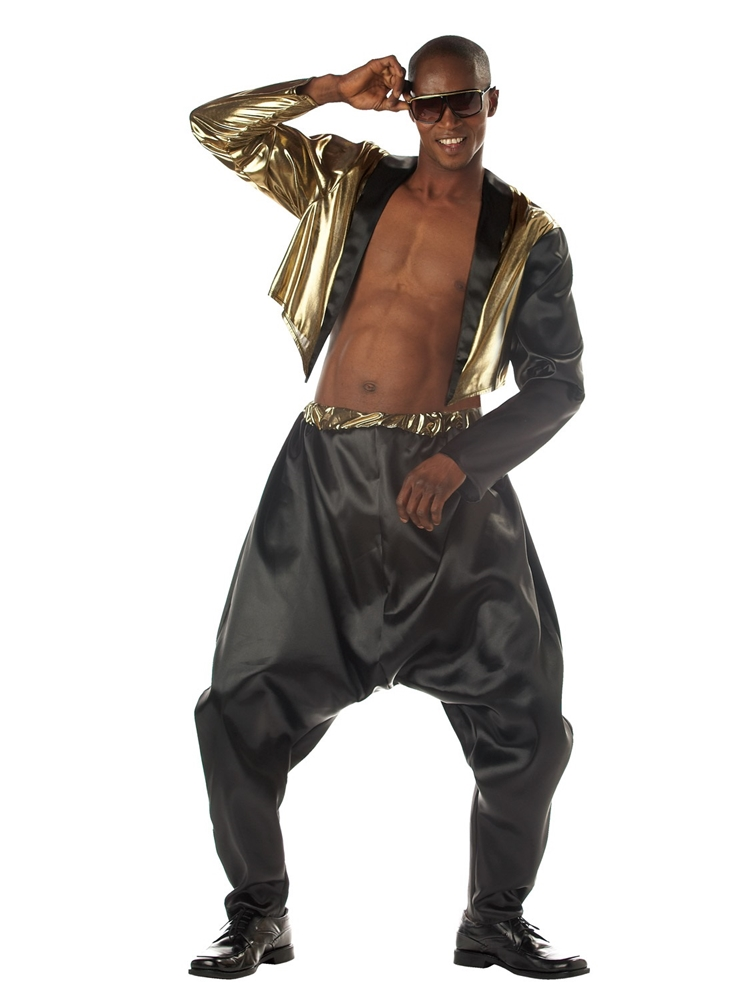 Old School Rapper Adult Mens Costume by California Costumes